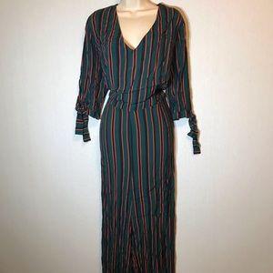 Wild Fable Women Plus Size 4X Jumpsuit Stripes New